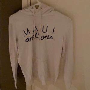 Other - White maui and sons hoodie